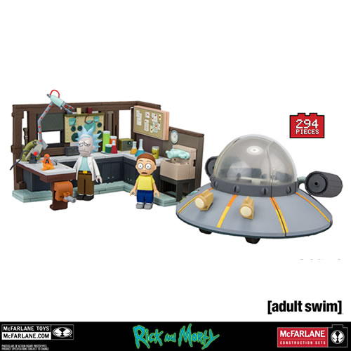 McFarlane Building Sets - Rick And Morty - Large Set